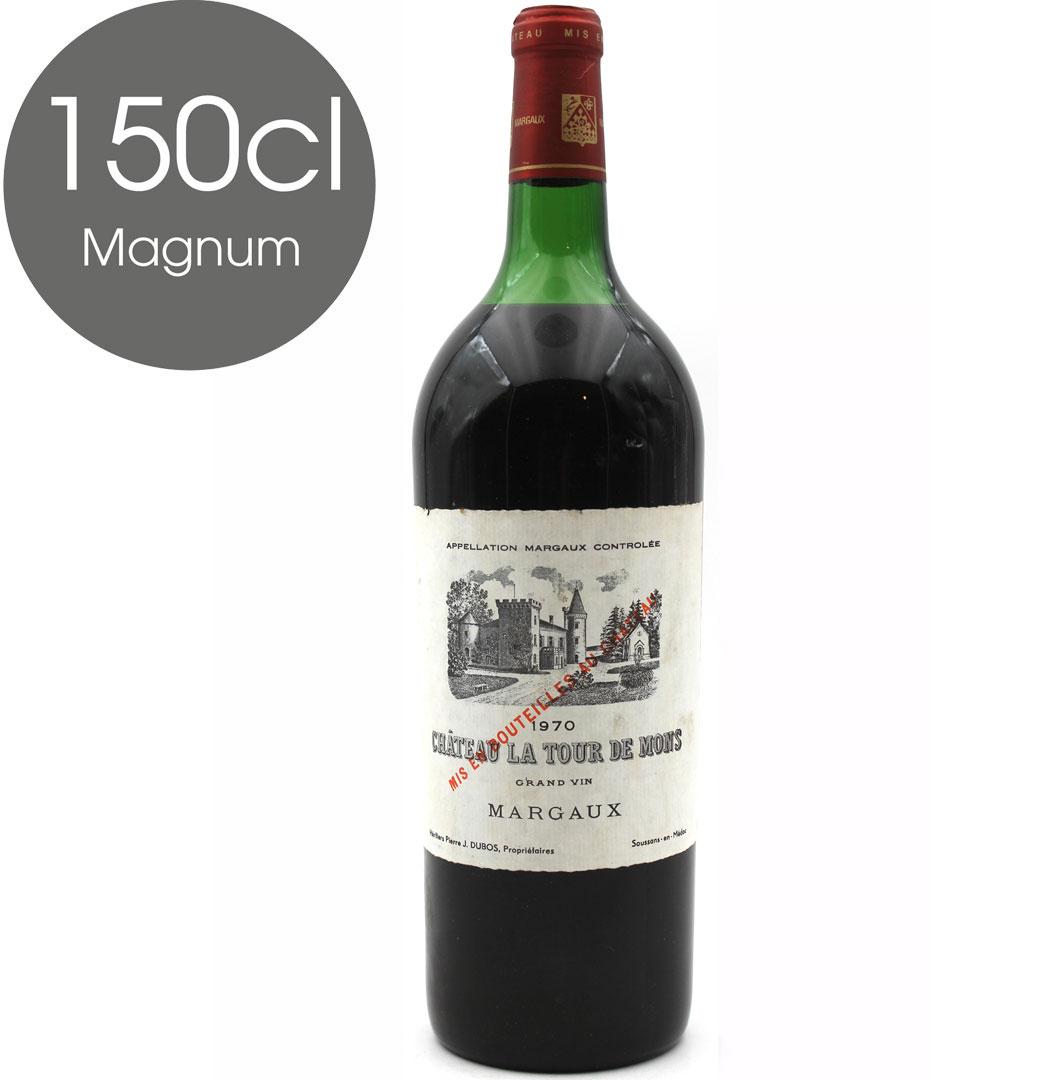 Château La Tour de Mons 1970 Rouge 150cl Magnum AOC Margaux