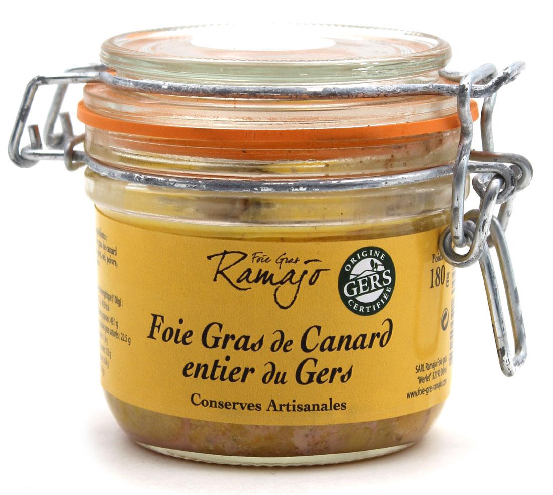 Foie Gras de Canard du Gers - 180g - Médaille d\'Argent Paris 2020