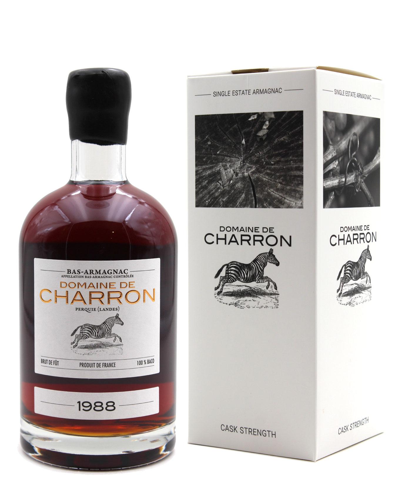 Bas Armagnac Domaine de Charron 1988 - 70cl