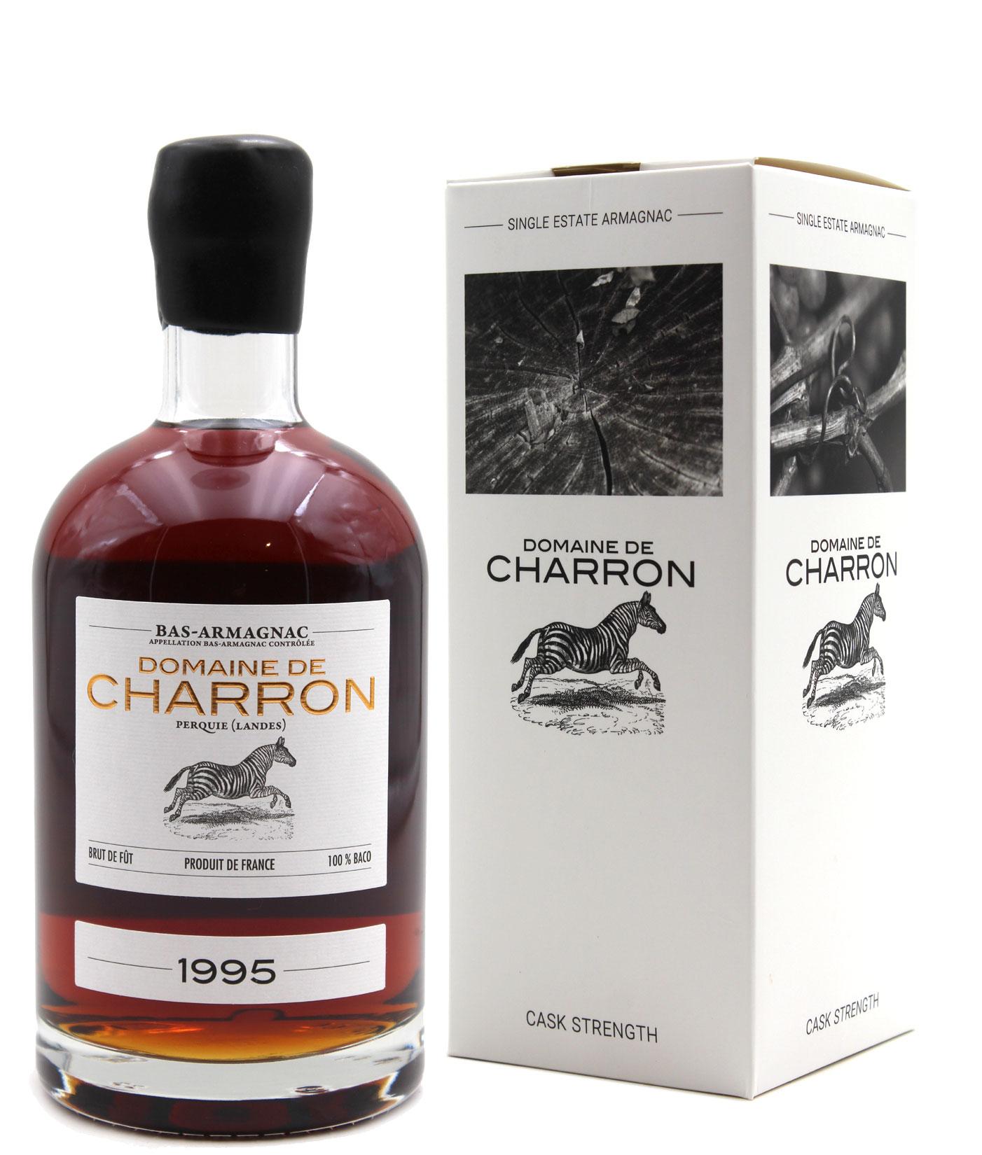 Bas Armagnac Domaine de Charron 1995  - 70cl