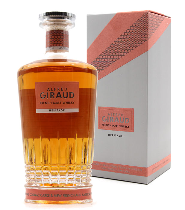 Alfred Giraud Héritage Whisky 45.9% - 70cl