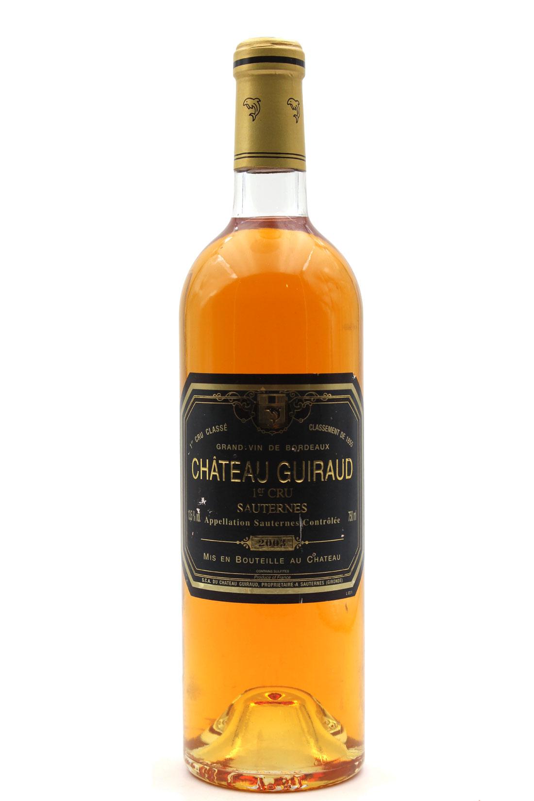Château Guiraud 2003 - 75cl AOC Sauternes