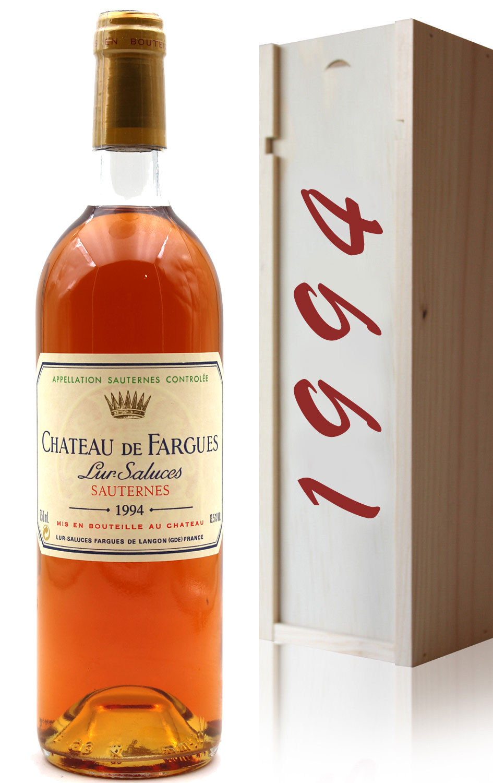 Coffret Château de Fargues 1994  - 75cl AOC Sauternes