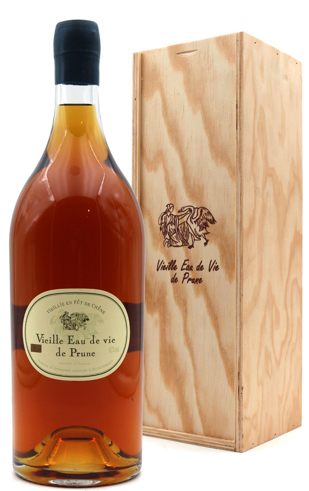 Vieille eau-de-vie de Prune Renaissance - Laubade - Magnum 150cl