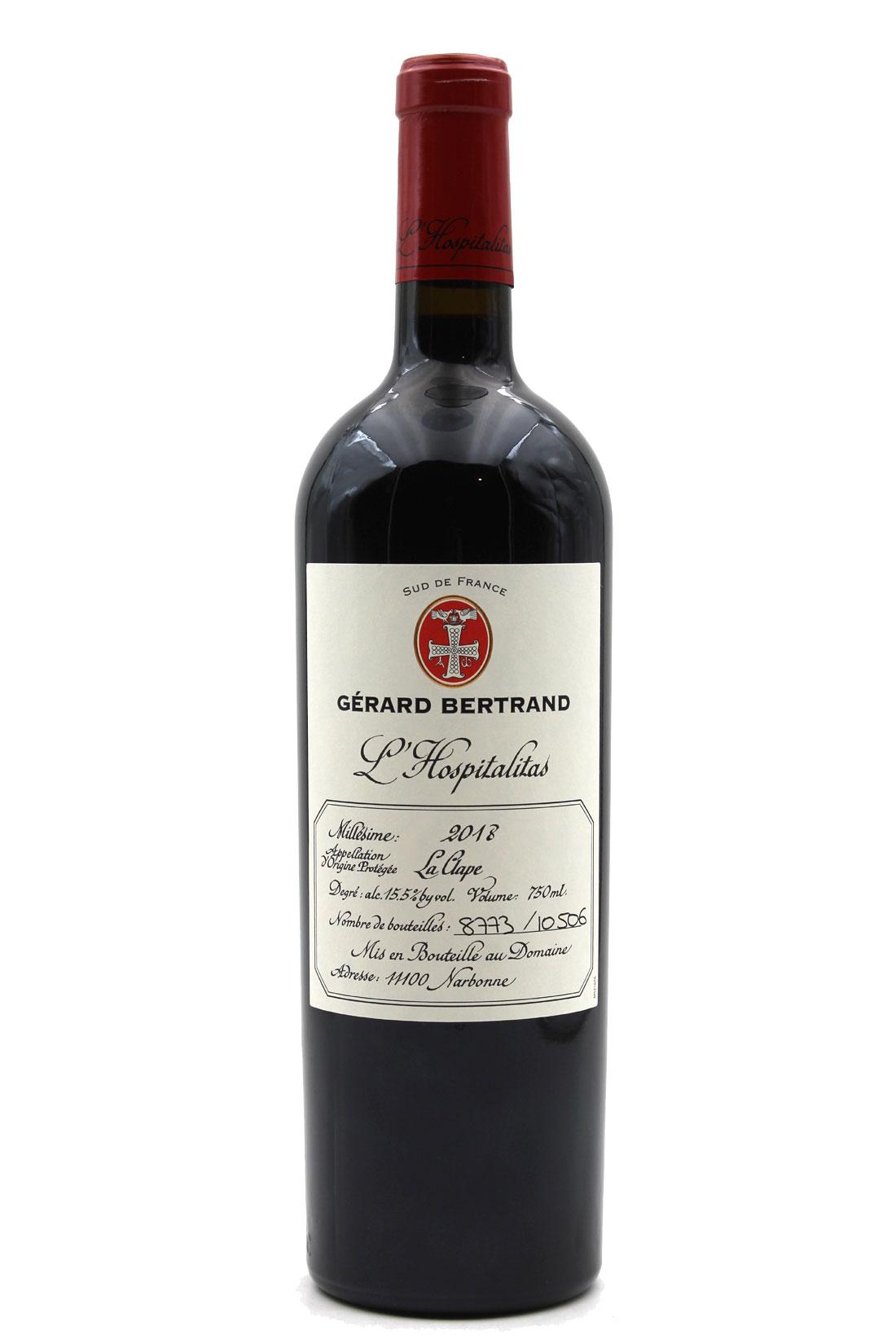 L\' Hospitalitas 2018 - Gérard Bertrand - Rouge 75cl - AOP La Clape