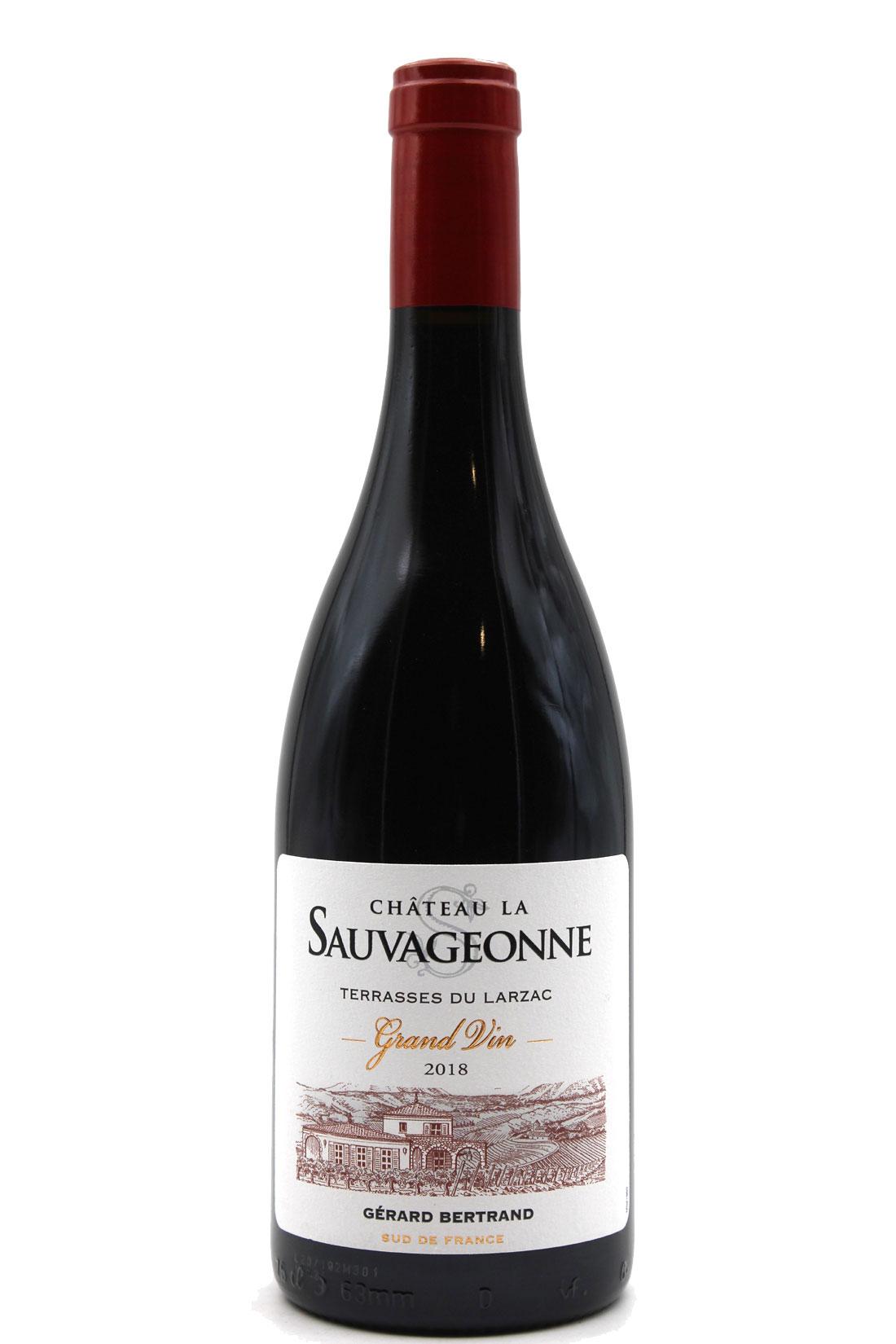 Château la Sauvageonne 2018 - Gérard Bertrand - Rouge 75cl - AOP Terrasses du Larzac