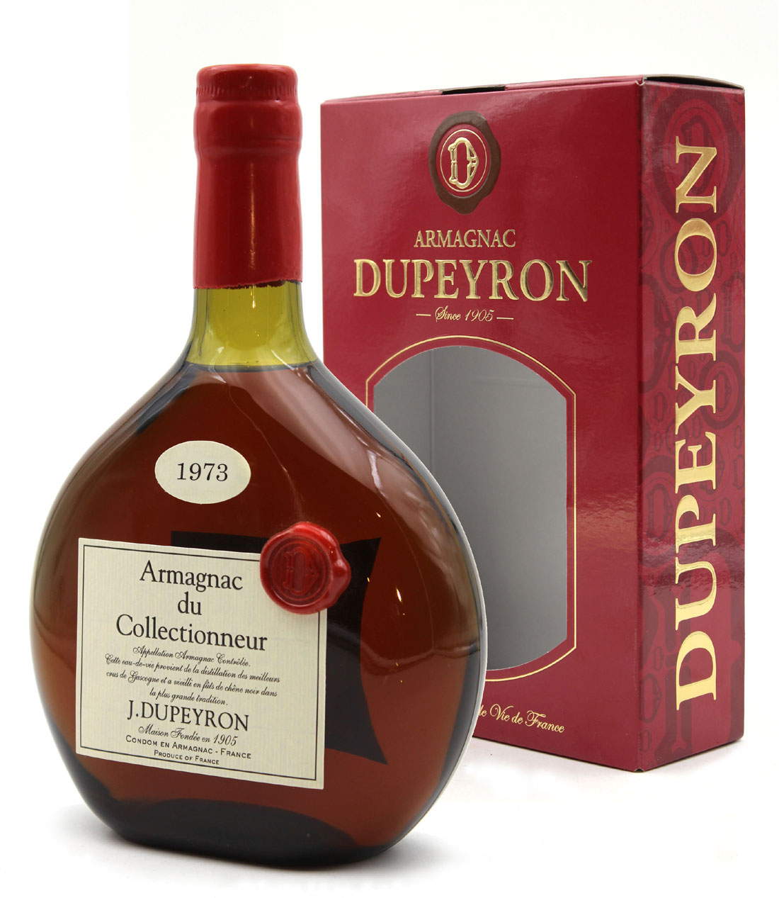 Armagnac - Ryst Dupeyron - 1973 - 70cl