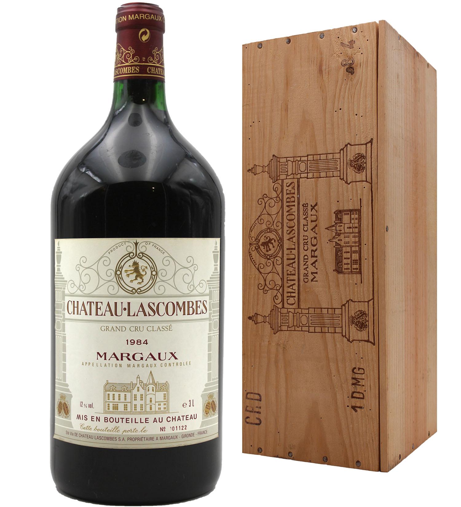 Château Lascombes 1984 - Double Magnum - 300cl - AOC Margaux