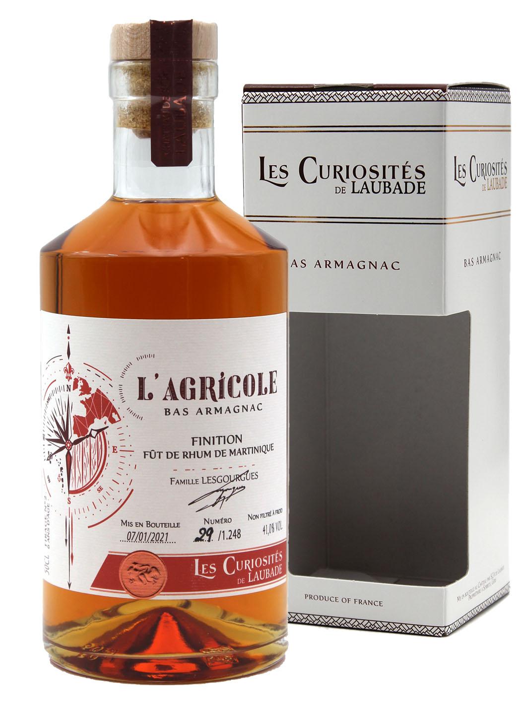L\'Agricole - AOC Bas Armagnac - Les Curiosités de Laubade - 50cl