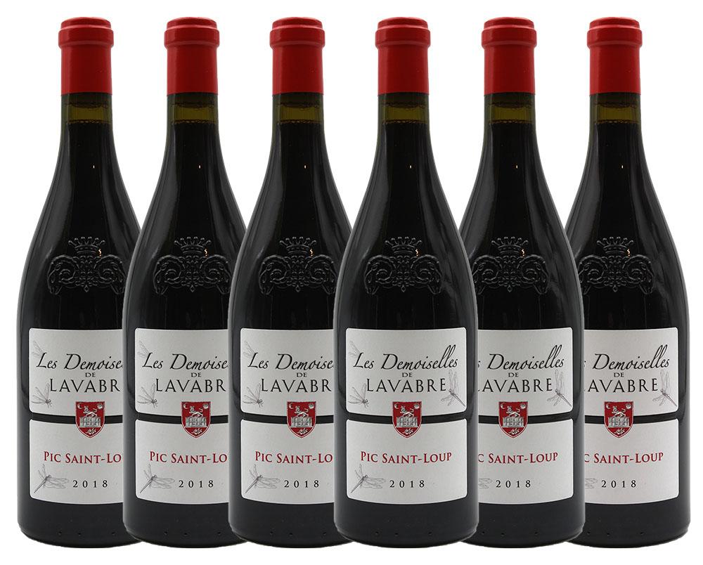 Les Demoiselles de Lavabre 2018 Pic Saint-Loup - vin rouge - 75cl - Languedoc