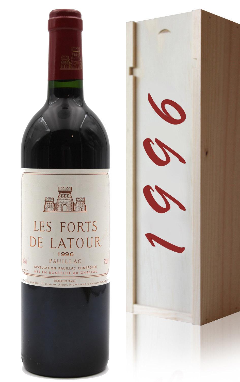 Coffret Château Les Forts de Latour 1996 - 75cl AOC Pauillac