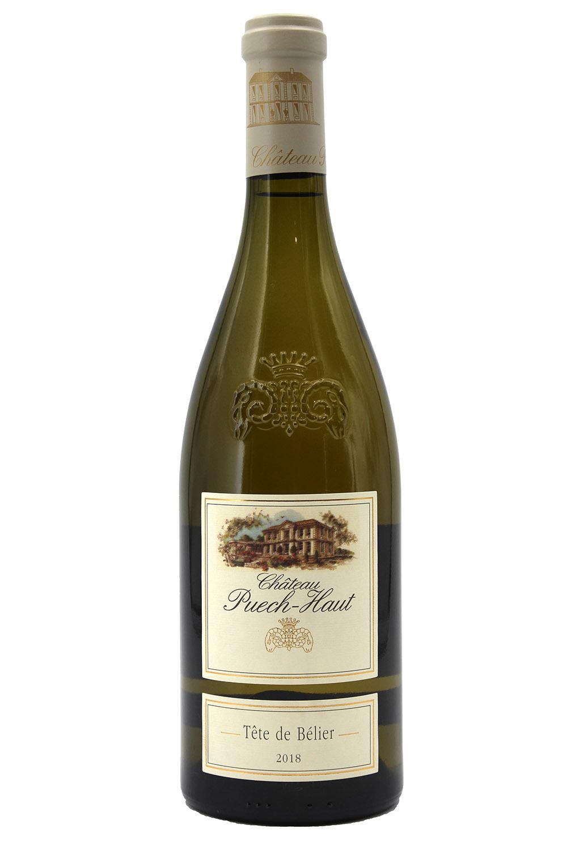 Château Puech Haut 2018 Tête de Belier - Vin Blanc - Côteaux du Languedoc