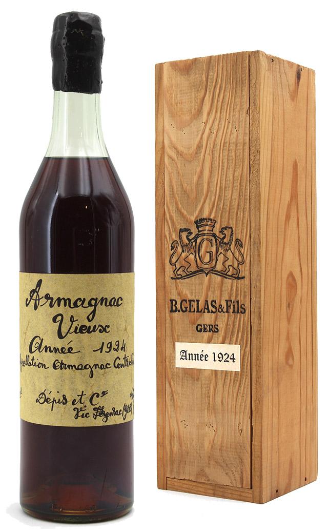 armagnac Gelas 1924 2