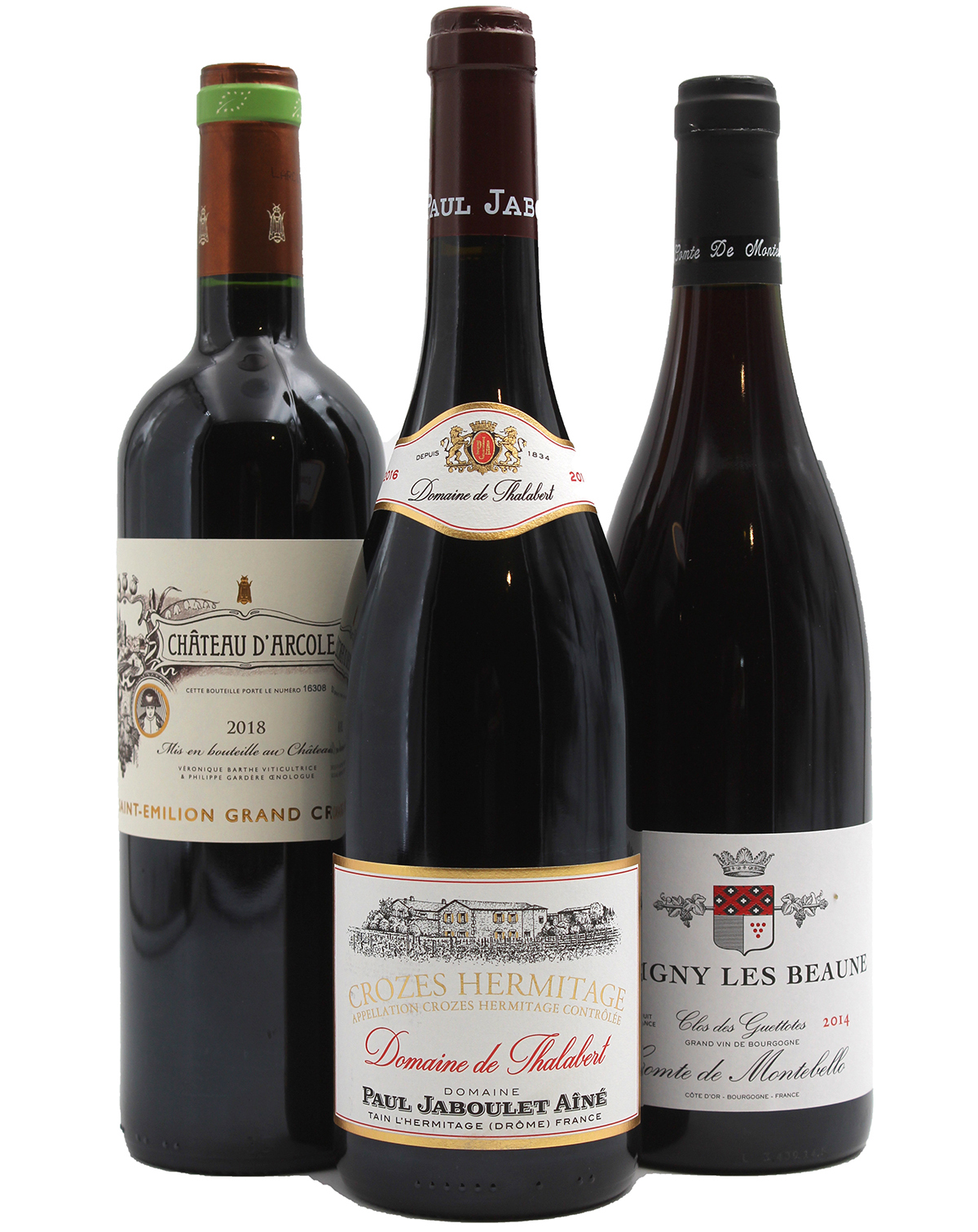 3 pépites vins rouges