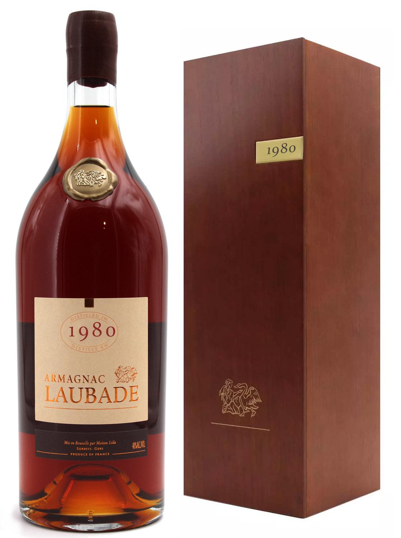 Armagnac Laubade 1980 - Magnum - 150cl