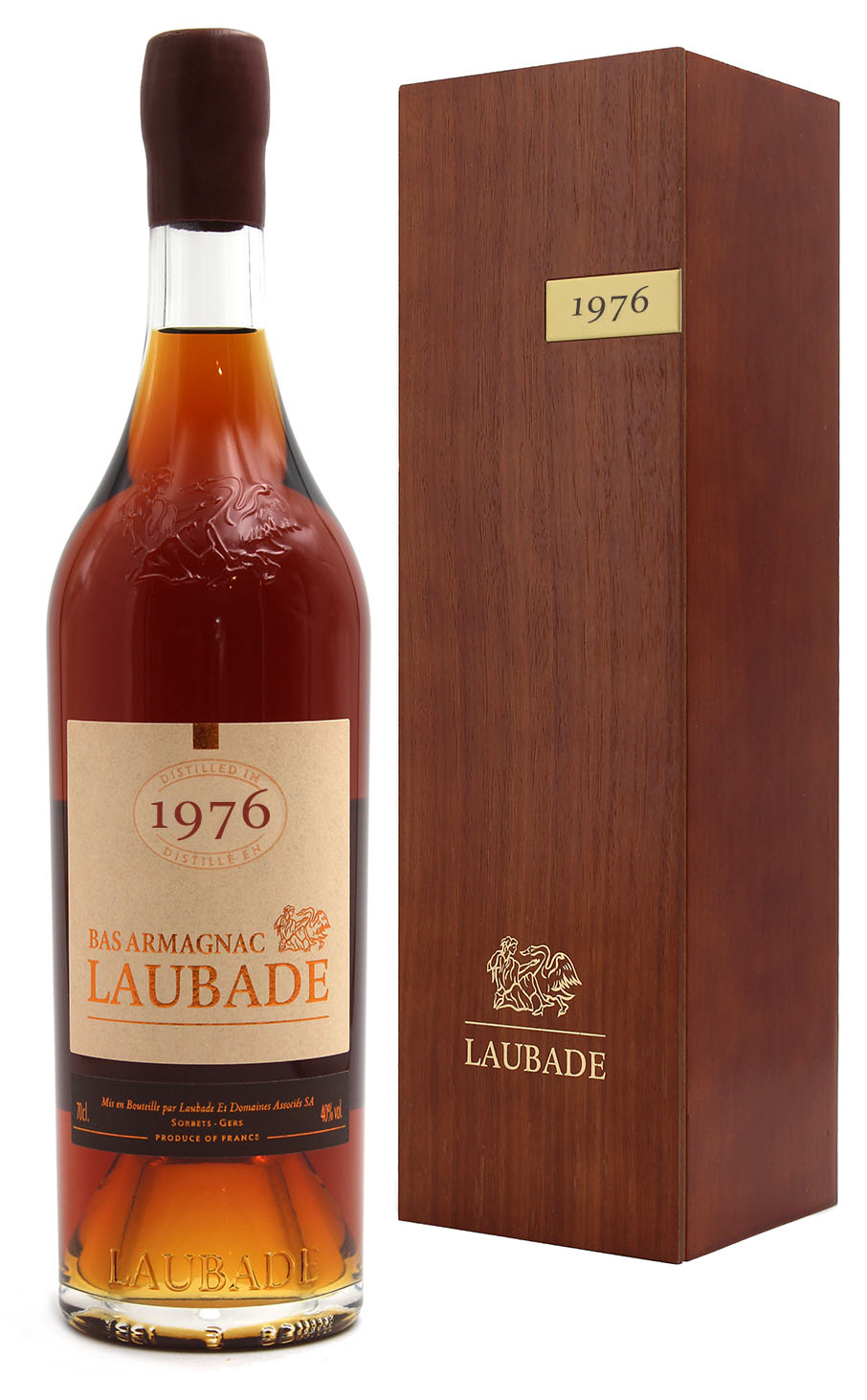 Bas Armagnac Laubade 1976  - 70cl