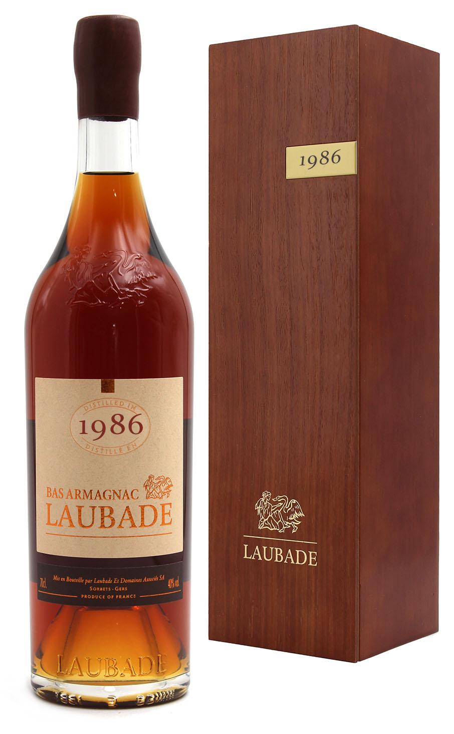 Bas Armagnac Laubade 1986  - 70cl