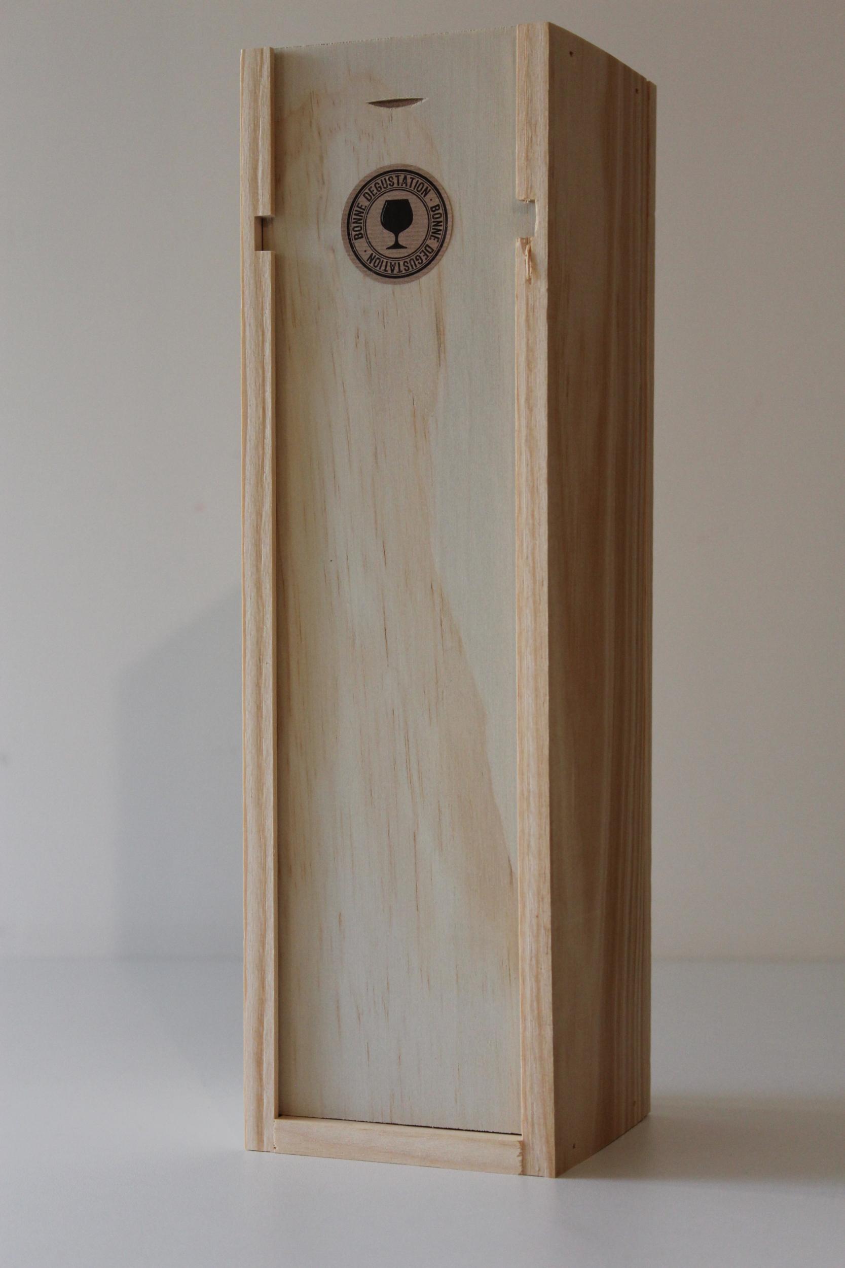 coffret bois magnum avec couvercle a glissi re. Black Bedroom Furniture Sets. Home Design Ideas