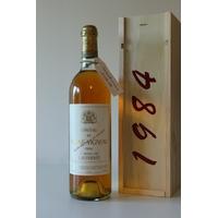 Coffret  Château Rayne Vigneau 1984 Blanc 75cl AOC Sauternes