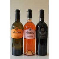 Lot de 3 bouteilles Villa Dria