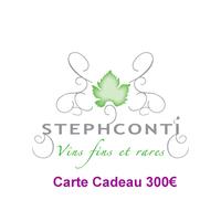 CARTE CADEAU 300 €