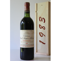 COFFRET CHÂTEAU HAUT BAGES LIBERAL 1983 Rouge 75cl AOC Pauillac