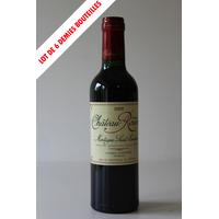 CHÂTEAU ROUDIER 2009 - demie bouteille - 0,37cl