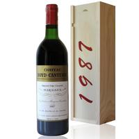 COFFRET CHÂTEAU BOYD CANTENAC 1987 Rouge 75cl AOC Margaux