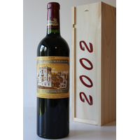 COFFRET CHÂTEAU DUCRU BEAUCAILLOU 2002 ROUGE 75CL SAINT-JULIEN