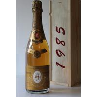 Coffret Champagne Cristal Louis Roederer 1985 - 75cl
