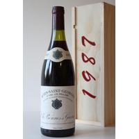 COFFRET  BONNES ET GUERRES NUITS SAINT GEORGES 1987 Rouge 75CL AOC Bourgogne