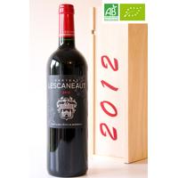 Coffret Château Lescaneaut Bio 2012 75cl AOC Bordeaux