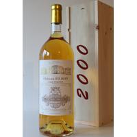 Coffret Château Filhot 2000 Magnum  Blanc 150cl AOC Sauternes
