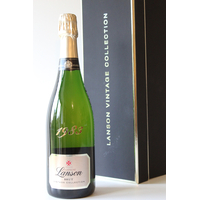 COFFRET LANSON BRUT 1983 Champagne 75cl