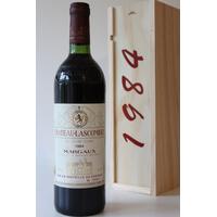 COFFRET CHÂTEAU LASCOMBES 1984 Rouge 75cl AOC MARGAUX
