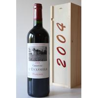 COFFRET CHÂTEAU L' ÉVANGILE 2004 Rouge 75cl AOC Pomerol
