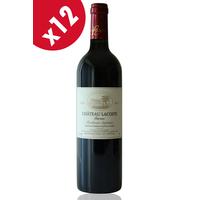 x12 CHÂTEAU LACOSTE GARZAC 2014 Rouge 75cl AOC Bordeaux Supérieur