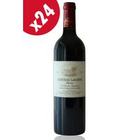 x24 Château Lacoste Garzac 2014 Rouge 75cl AOC Bordeaux Supérieur