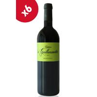 x6 Château La Guillaumette 2016 Bio Rouge 75cl AOC Bordeaux