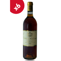 x6 CHÂTEAU SUDUIRAUT 1990 Blanc 75cl AOC Sauternes