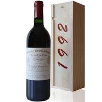 Coffret Château Cheval Blanc 1992 Rouge 75cl AOC Saint-Émilion