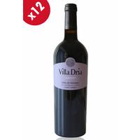 x12 Villa Dria Cabernet Rouge - 75cl - AOC - Côtes de Gascogne