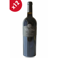 x12 Villa Dria Merlot Rouge - 75cl - AOC - Côtes de Gascogne
