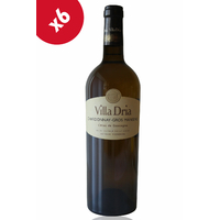 x6 Villa Dria Chardonnay-Gros Manseng Blanc sec - 75cl - AOC - Côtes de Gascogne