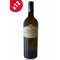 x12 VILLA DRIA CHARDONNAY-GROS MANSENG Blanc sec - 75cl - AOC - Côtes de Gascogne