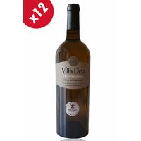 x12 VILLA DRIA PETIT MANSENG Blanc doux - 75cl - AOC - Côtes de Gascogne