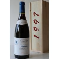 Coffret Chanson 1997 Pommard Clos Blanc 1er Cru Rouge 75cl AOC Bourgogne