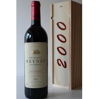 Coffret Château Meyney 2000 Rouge 75cl AOC Saint-Estephe