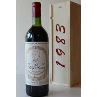 COFFRET CHÂTEAU LE BERGER BARON 1983 Rouge 75cl AOC Bordeaux