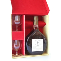 Coffret 2 Verres Armagnac De Loyac - 1966 - 70CL